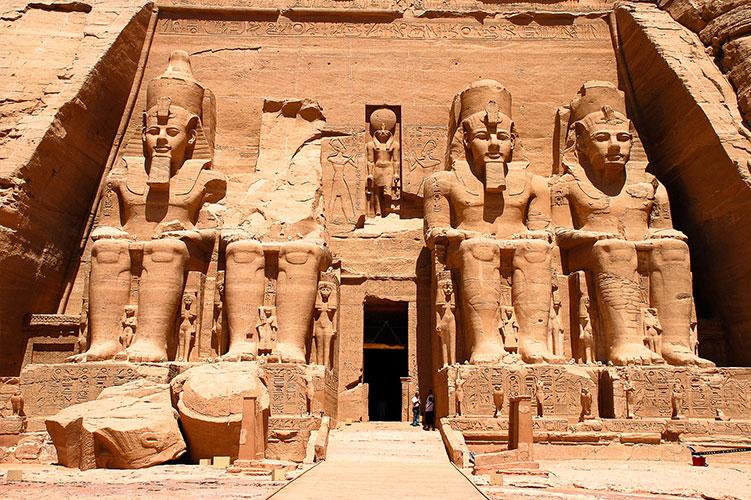 abu simbel temples aswan egypt
