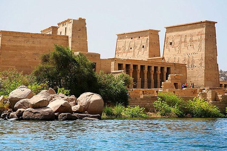 the temple of edfu-horus-aswan-egypt