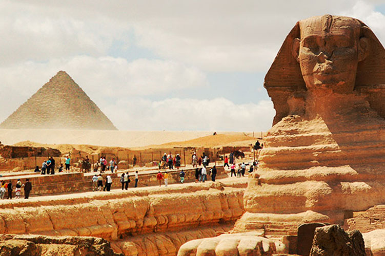 the great sphinx of giza egypt