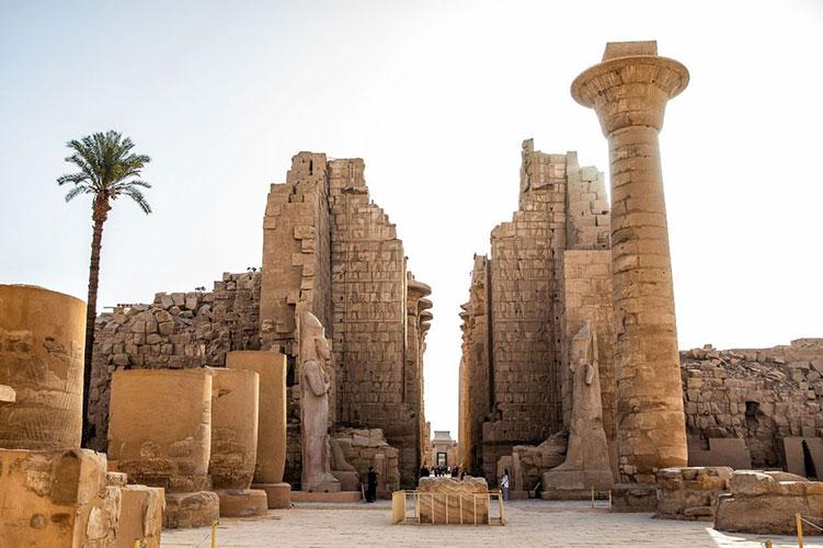 karnak temple cairo egypt