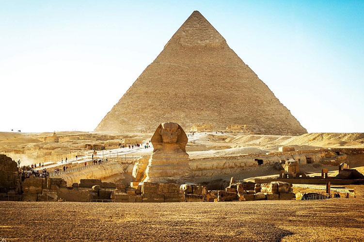 the great pyramid giza egypt