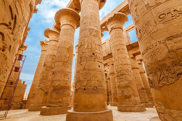 luxor temple luxor egypt