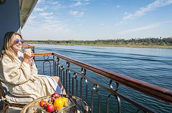 nile cruise luxor and aswan egypt