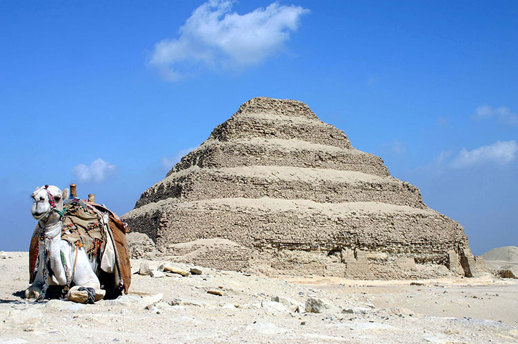 step pyramid of djoser cairo egypt