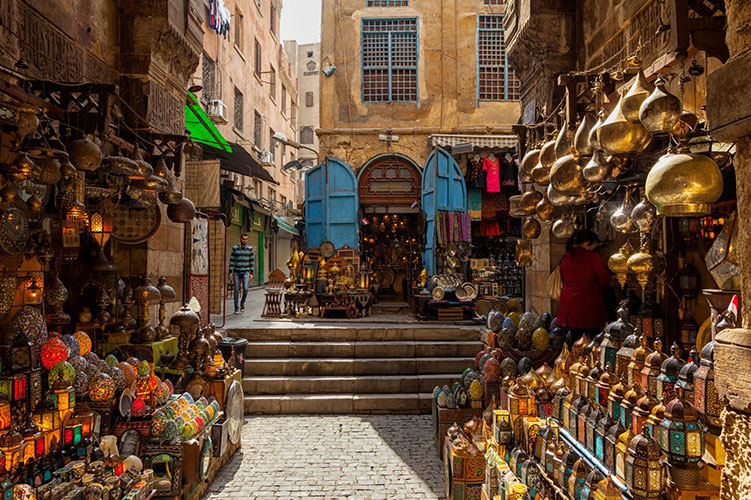 khan el-khalili cairo egypt