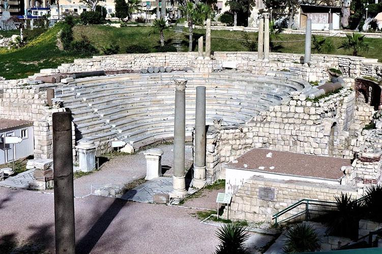 ancient-roman-amphitheater-alexandria-egypt