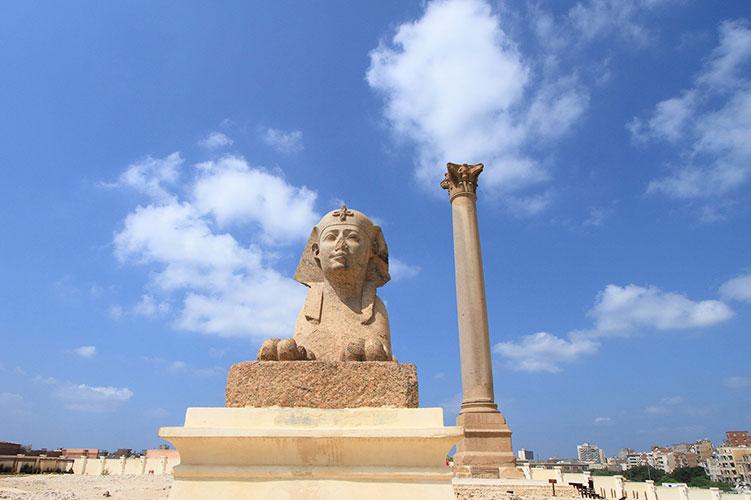 Pompey's Pillar-alexandria-egypt