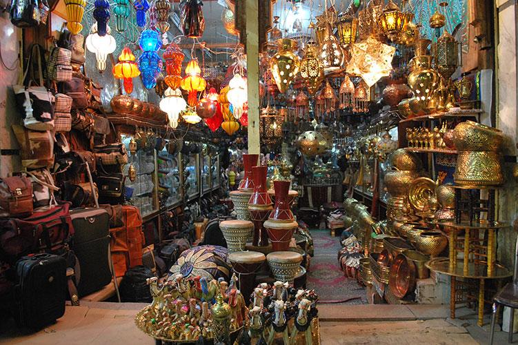 khan el-khalili bazaar-cairo-egypt