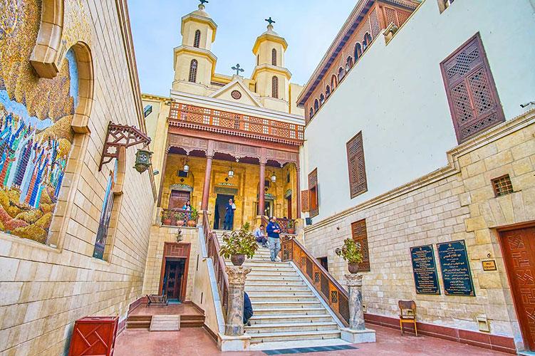 hanging church cairo