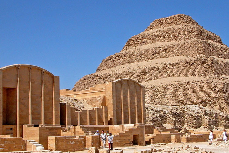 step pyramid of djoser egypt
