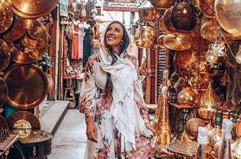 khan el khalili bazaar cairo egypt