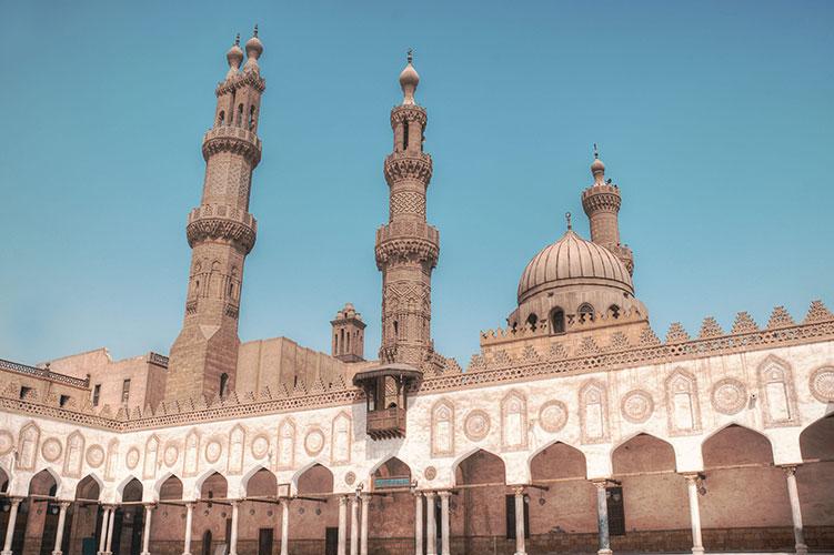 al azhar mosque cairo egypt