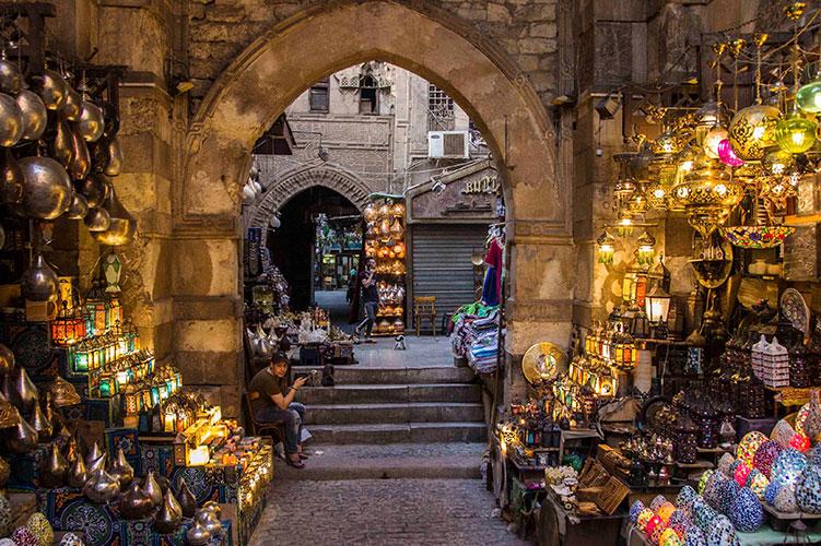 el moez street cairo egypt