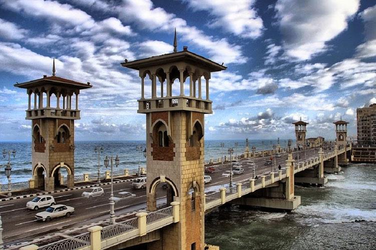 stanley bridge alexandria egypt