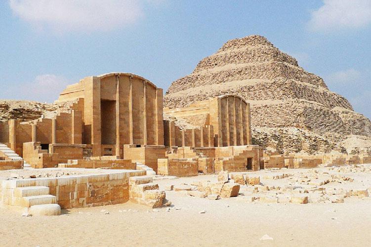 the step pyramid of djoser giza egypt