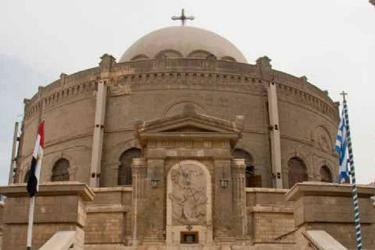 hanging church cairo egypt