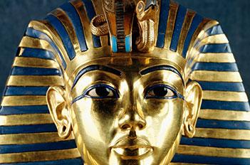 the mask of tutankhamun
