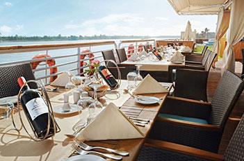 acamar nile cruise view