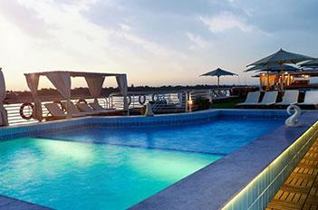 acamar nile cruise pool