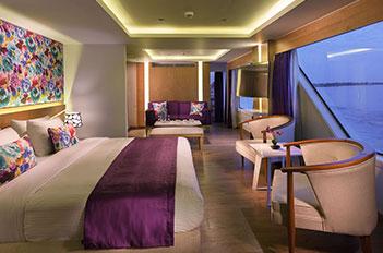 Acamar Nile Cruise suites