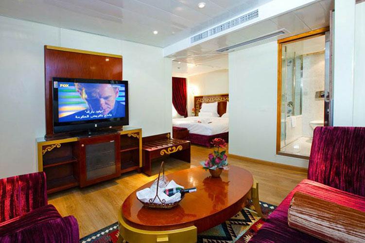 Al Hambra Nile Cruise inside